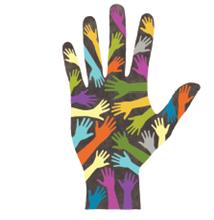 diversity hand